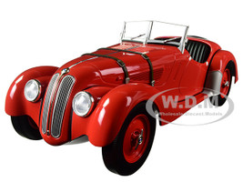 1936 BMW 328 Red Limited Edition to 504pcs 1/18 Diecast Model Car Minichamps 155025031