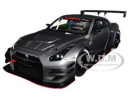 Nissan GT-R Nismo GT3 Dark Matt Grey 1/18 Model Car Autoart 81583