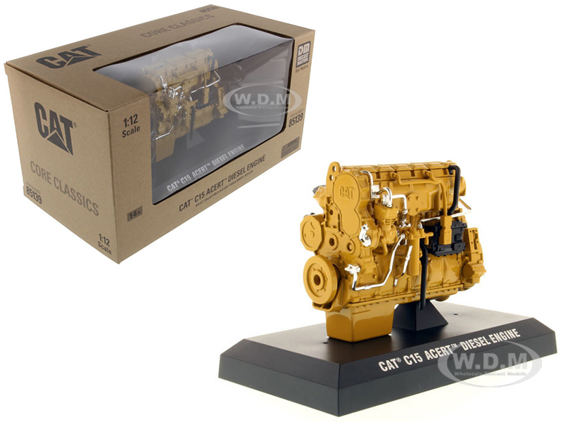 CAT Caterpillar C15 ACERT Diesel Engine Core Classics Series 1/12 Diecast Model Diecast Masters 85139 C