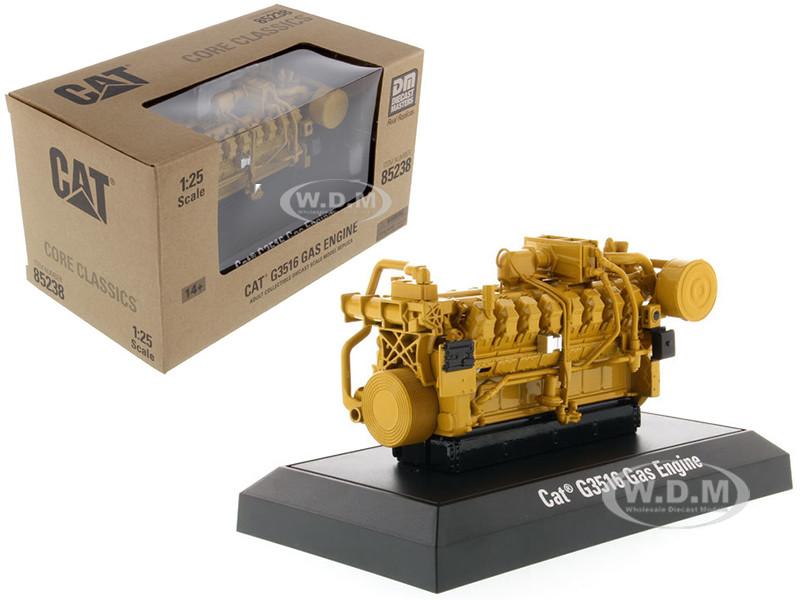 CAT Caterpillar G3516 Gas Engine Core Classics Series 1/25 Diecast Model Diecast Masters 85238