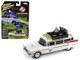 1959 Cadillac Ghostbusters Ecto-1A Movie 1/64 Diecast Model Car Johnny Lightning JLSS004
