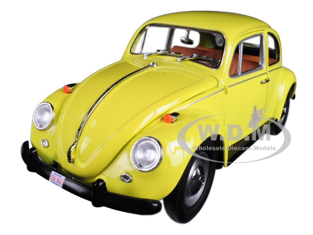 "Emma's Volkswagen Beetle Yellow ""Once Upon a Time"" TV Series (2010-Current) 1/18 Diecast Model Car Greenlight 12993"