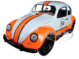 Volkswagen Beetle Gulf Oil Racer #54 1/18 Diecast Model Car Greenlight 12994