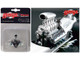 """Blown Drag Engine and Transmission Replica from """"The Chizler V"""" Vintage Dragster 1/18 Model GMP 18853"""