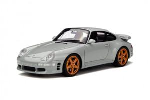 Porsche Ruf Turbo R Grey Limited Edition to 1500pcs 1/18 Model Car GT Spirit GT145