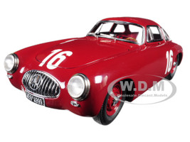 Mercedes 300 SL #16 Red Great Price of Bern 1952 Limited Edition of only 1500 Pieces Worldwide 1/18 Diecast Model Car CMC 160