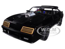 "Ford XB Falcon Tuned Version ""Black Interceptor"" 1/18 Diecast Model Car Autoart 72775"