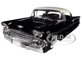 "1958 Chevrolet Impala Black ""Showroom Floor"" 1/24 Diecast Model Car Jada 98895"