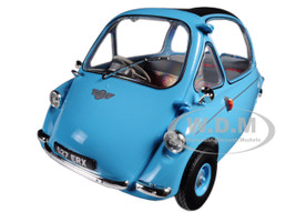 Heinkel Trojan RHD Bubble Car Light Blue 1/18 Diecast Model Car Oxford Diecast 18HE001