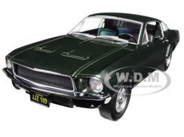 1968 Ford Mustang Gt Fastback Green Bullitt 1968 Movie 1/24 Diecast Model Car Greenlight 84041