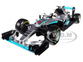 Mercedes AMG F1 W07 Hybrid Petronas #44 Lewis Hamilton Formula 1 2016 1/18 Diecast Model Car Bburago 18001 LH