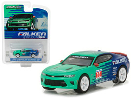 2017 Chevrolet Camaro SS Falken Tire Hobby Exclusive 1/64 Diecast Model Car Greenlight 29914