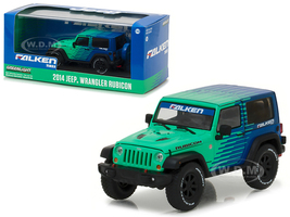 2014 Jeep Wrangler Rubicon Falken Tires 1/43 Diecast Model Car Greenlight 86090