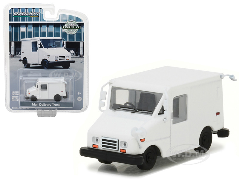 Long Live Postal Mail Delivery Vehicle LLV Hobby Exclusive 1/64 Diecast Model Car Greenlight 29911