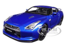 2008 Nissan GTR R-35 Blue 1/18 Diecast Model Car Norev 188052