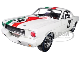 1965 Ford Shelby Mustang GT350R #18 Mexico 1/18 Diecast Car Model Shelby Collectibles SC357