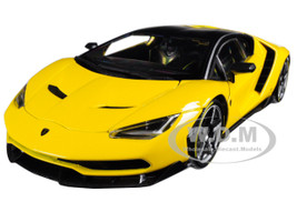 Lamborghini Centenario Yellow Exclusive Edition 1/18 Diecast Model Car Maisto 38136