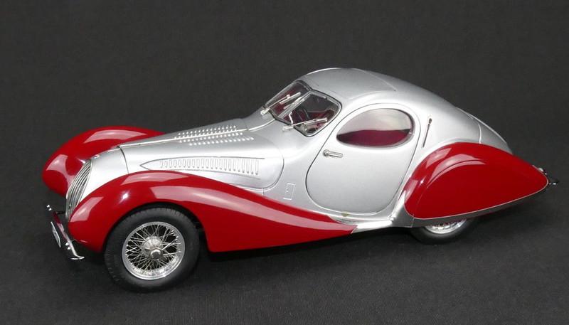 1937-39 Talbot Lago Coupe T150 C Figoni & Falaschi Teardrop 1/18 Diecast Model Car CMC 165