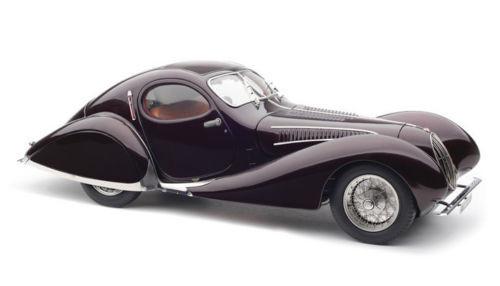1937-1939 Talbot Lago Coupe T150 SS Memory Edition Teardrop 1/18 Diecast Model Car CMC 179