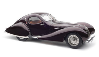 1937-1939 Talbot Lago Coupe T150 SS Memory Edition Teardrop 1/18 Diecast Model Car CMC 179