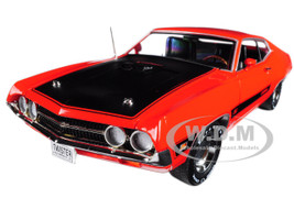 1970 Ford Torino Cobra Twister Calypso Coral Limited Edition to 1002pc 1/18 Diecast Model Car Autoworld AMM1112