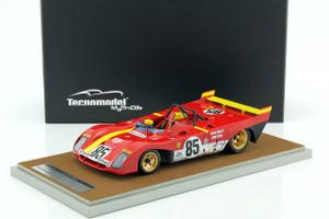 Ferrari 312 PB #85 1972 Winner Watkins Glen Mario Andretti Jacky Ickz Limited Edition to 150pcs 1/18 Model Car Tecnomodel TM18-62 A