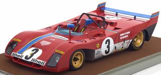 Ferrari 312 PB #3 1972 Winner Nurburgring Ronnie Peterson Tim Schenken Limited Edition to 100pcs 1/18 Model Car Tecnomodel TM18-62 B