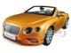 2016 Bentley Continental GT Convertible LHD Sunburst Gold 1/18 Diecast Model Car Paragon 98232