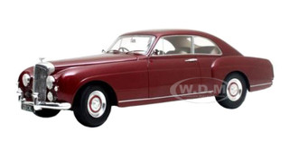 1955 Bentley S1 Continental Fastback Burgundy 1/18 Model Car Cult Models CML023-1