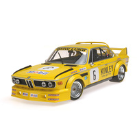 BMW 3.0 CSL #6 Luigi Racing Van Hove Xhenceval Dieudonne Winner Car Brands Hatch 500 km 1979 Limited to 350pc Worldwide 1/18 Diecast Model Car Minichamps 155792506