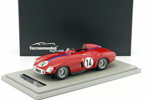 Ferrari 750 Monza #14 1955 Le Mans 24hr Masten Gregory Mike Sparken Limited Edition to 150pcs 1/18 Model Car Tecnomodel TM18-46 A