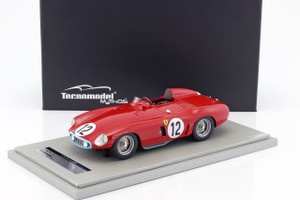Ferrari 750 Monza #12 1955 Le Mans 24hr Pierre Louis-Dreyfus Jean Lucas Limited Edition to 150pcs 1/18 Model Car Tecnomodel TM18-46 B