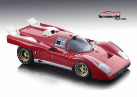 Ferrari 512M Test Version 1971 Red Limited Edition to 100pcs 1/18 Model Car Tecnomodel TM18-55 A