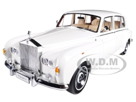 Rolls Royce Phantom VI White 1/18 Diecast Model Car Kyosho 08905