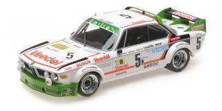 BMW 3.0 CSL #5 Assoc Interim Chavan Detrin Demuth Winners 24 Hours SPA 1976 Limited to 600pc Worldwide 1/18 Diecast Model Car Minichamps 155762505