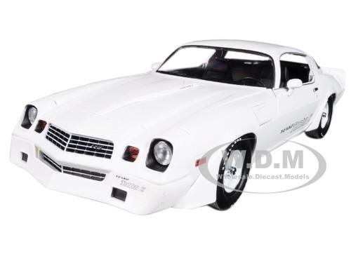 1981 Chevrolet Camaro Z/28 Yenko Turbo Z White 1/18 Diecast Model Greenlight 12998