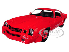 1981 Chevrolet Camaro Z/28 Yenko Turbo Z Red 1/18 Diecast Model Car Greenlight 12999