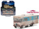 1972 Condor II RV from National Lampoon Christmas Vacation Movie HD Trucks Series 10 1/64 Diecast Model Greenlight 33100 A