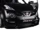 Nissan Juke R 2.0 Matt Black 1/18 Model Car Autoart 77458