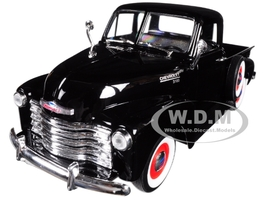 1953 Chevrolet 3100 Pick Up Truck Black 1/24 1/27 Diecast Model Car Welly 22087