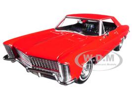 1965 Buick Riviera Gran Sport Red 1/24 - 1/27 Diecast Model Car Welly 24072