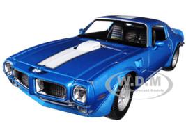 1972 Pontiac Firebird Trans Am Blue 1/24 - 1/27 Diecast Model Car Welly 24075