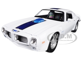 1972 Pontiac Firebird Trans Am White 1/24 1/27 Diecast Model Car Welly 24075