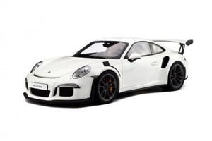 2016 Porsche 911 991 GT3 RS White Limited Edition to 991pcs 1/18 Model Car GT Spirit GT140