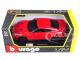 2017 Nissan GT-R R35 Red 1/24 Diecast Car Model BBurago 21082