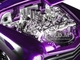 1951 Mercury Purple with Flames Big Time Kustoms 1/24 Diecast Model Car Jada 99061