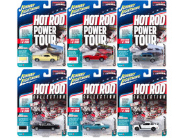 Muscle Cars USA 2017 Release 4A Set of 6 cars 1/64 Diecast Model Cars Johnny Lightning JLMC007 A