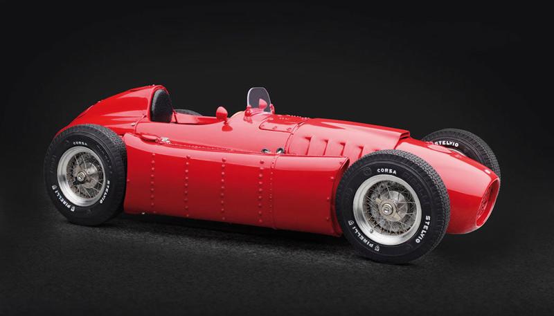 1954-1955 Lancia D50 Red 1/18 Diecast Model Car CMC 175
