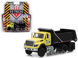 2017 International Workstar Construction Dump Truck New York City DOT SD Trucks Series 2 1/64 Diecast Model Greenlight 45020 A