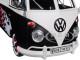 Volkswagen Type 2 T1 Delivery Van with Flames 1/24 Diecast Car Model Motormax 79566